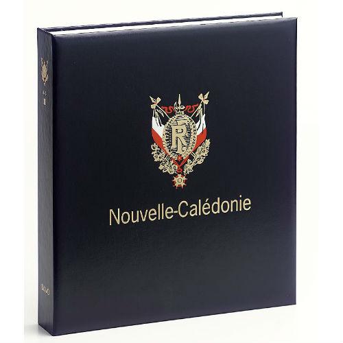 Davo Nieuw Caledonië luxe postzegelalbum met cassette deel III