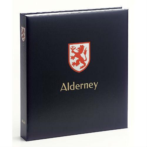 Davo Alderney  luxe postzegelalbum met cassette deel  II