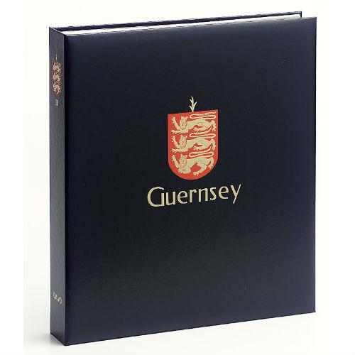 Davo Guernsey  luxe postzegelalbum met cassette deel III