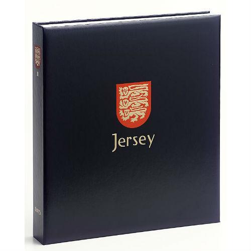 Davo Jersey  luxe postzegelalbum met cassette deel IV