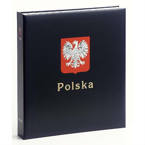 Davo Polen  luxe postzegelalbum incl cassette deel IX