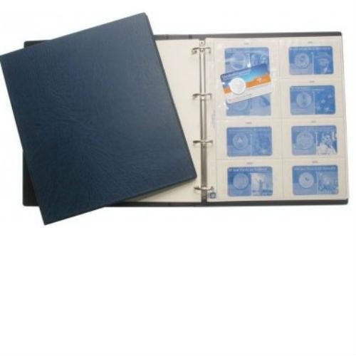Hartberger verzamelalbum voor coincards voorgedrukte bladen 2002-2015