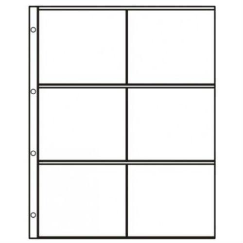 Hartberger S-2x3 Systeembladen 2 x 3 vaks
