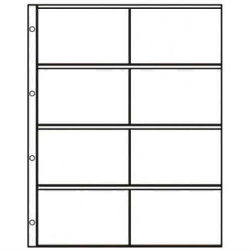 Hartberger S-2x4 Systeembladen 4 x 2 vaks