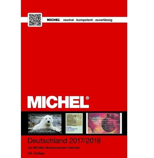 Michel postzegelcatalogus Duitsland 2017-2018