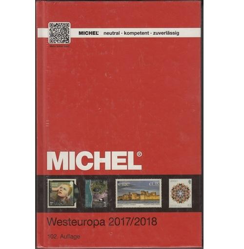 Michel postzegelcatalogus West Europa 2017-2018