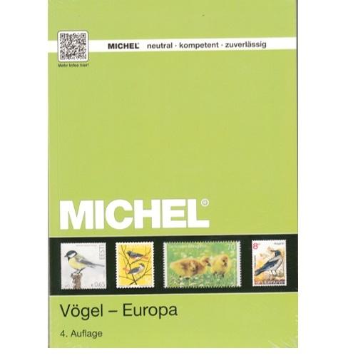 Michel postzegelcatalogus Vogels Europa 4e editie