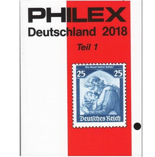 Philex    Duitsland deel I postzegelcatalogus 2018