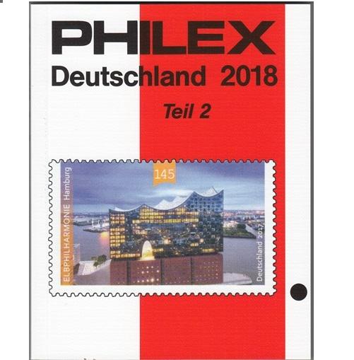 Philex  Duitsland II  postzegelcatalogus 2018