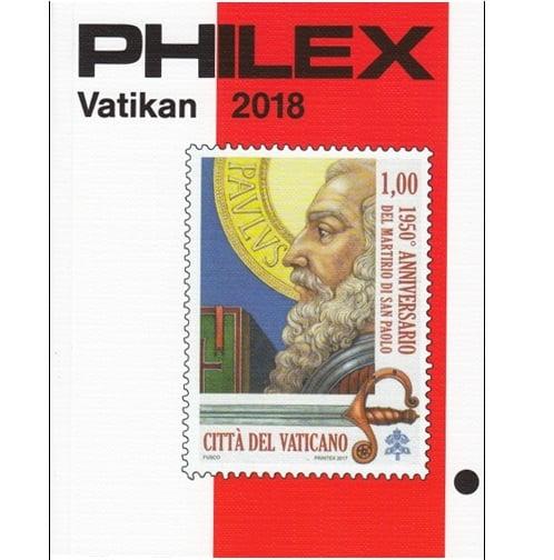 Philex  Vaticaan  postzegelcatalogus 2018