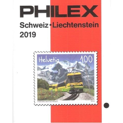 Philex Zwitserland Liechtenstein postzegelcatalogus 2018