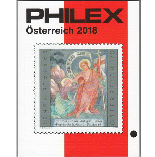 Philex  Oostenrijk  postzegelcatalogus 2018