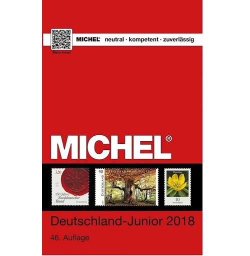 Michel postzegelcatalogus Duitsland junior 2018