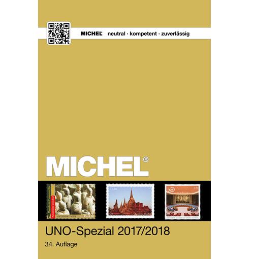 Michel postzegelcatalogus UNO-Speciaal 2017/2018