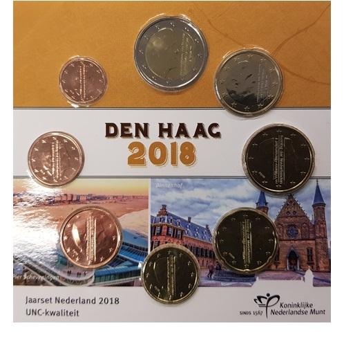 Nederland 2018 UNC-muntset