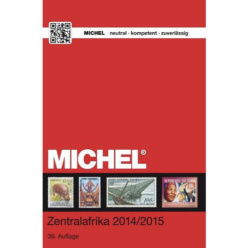 Michel postzegelcatalogus Centraal Afrika 2014-2015