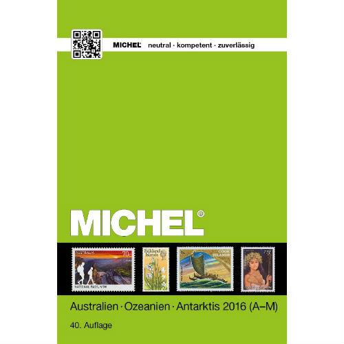 Michel postzegelcatalogus Australië Oceanië Antarctica 2016 deel I