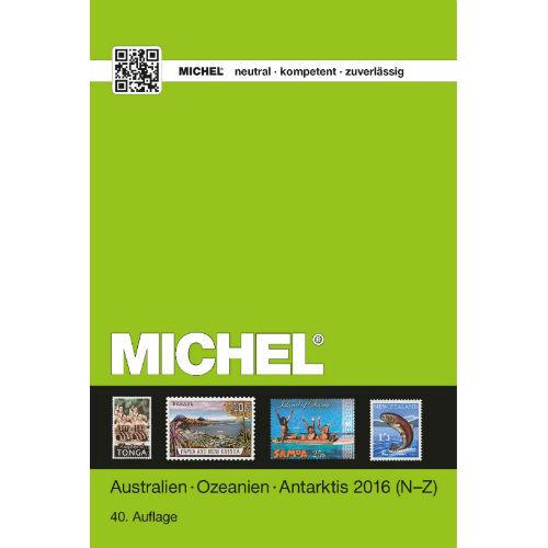 Michel postzegelcatalogus Australië Oceanië Antarctica 2016 deel II