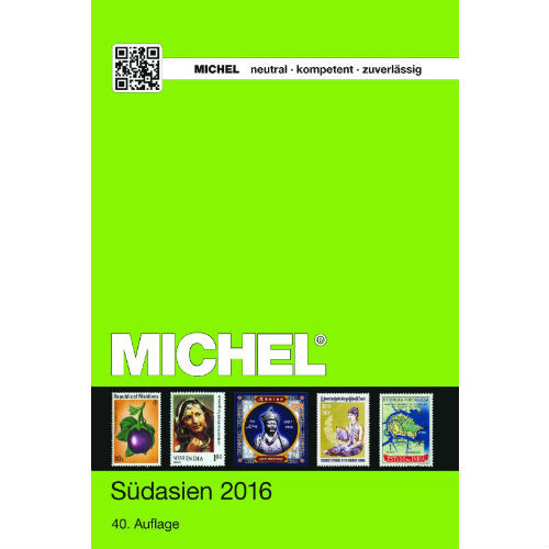 Michel postzegelcatalogus Zuid Azië 2016