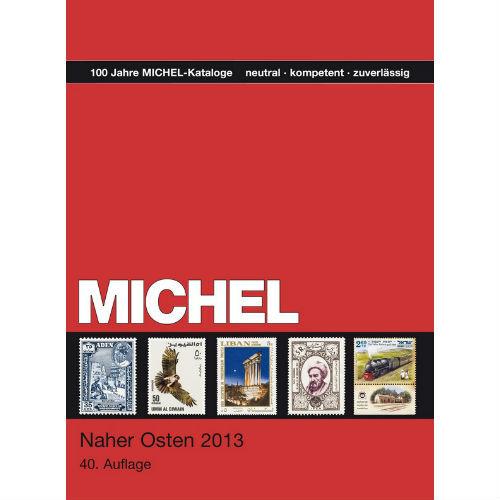 Michel postzegelcatalogus Nabije Oosten 2013