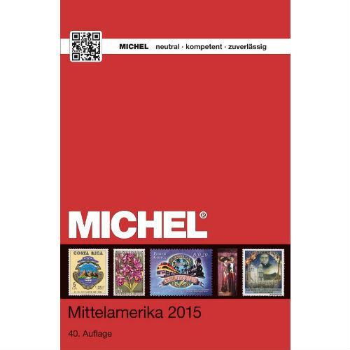 Michel postzegelcatalogus Midden Amerika 2015