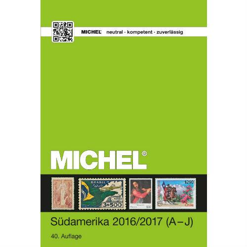 Michel postzegelcatalogus Zuid Amerika 2016-2017 (A-J)
