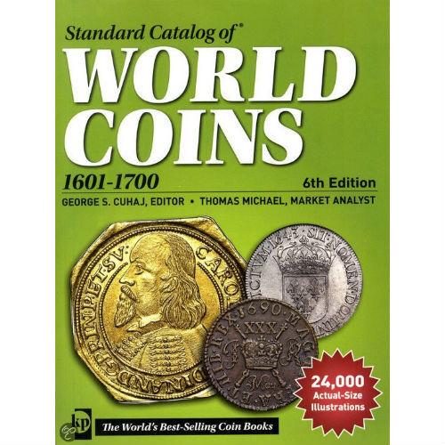 Krause muntencatalogus Worldcoins 1601-1700