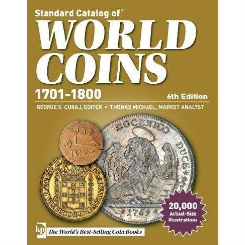Krause muntencatalogus Worldcoins 1701-1800