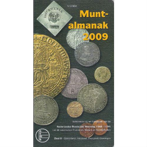 NVMH Muntalmanak 2009 Nederlandse Provinciale Muntslag 1568-1795