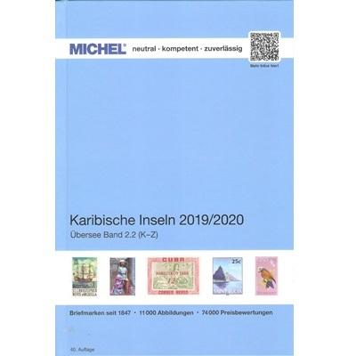 Michel postzegelcatalogus Caribische eilanden 2015-2016 (K-Z)