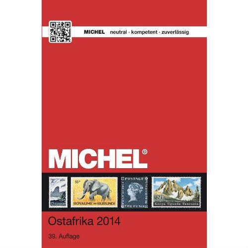 Michel postzegelcatalogus Oost Afrika 2014