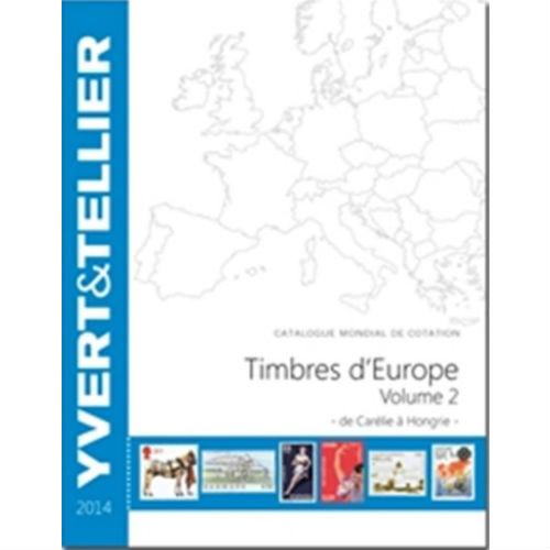 Yvert en Tellier postzegelcatalogus Europa C-H 2014 deel 2