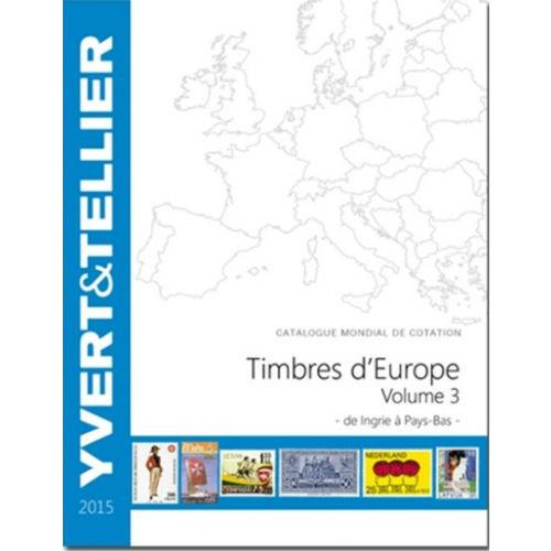 Yvert en Tellier postzegelcatalogus Europa I-P 2014 deel 3