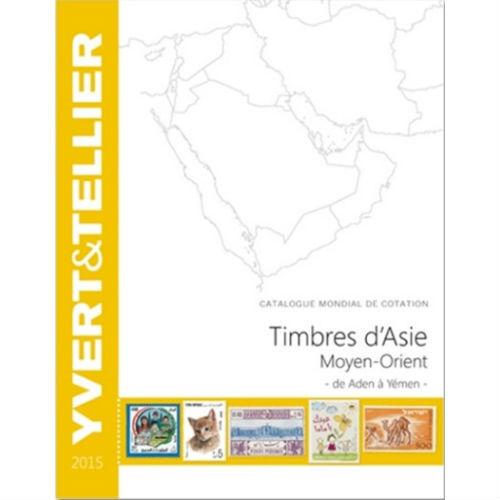 Yvert en Tellier postzegelcatalogus Azië Midden Oosten 2015