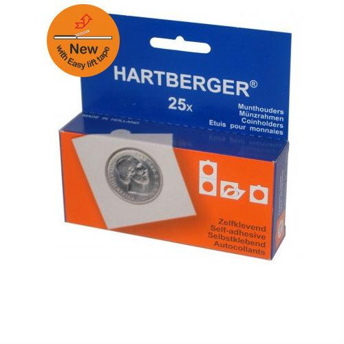 Hartberger zelkfklevende munthouders 15 mm