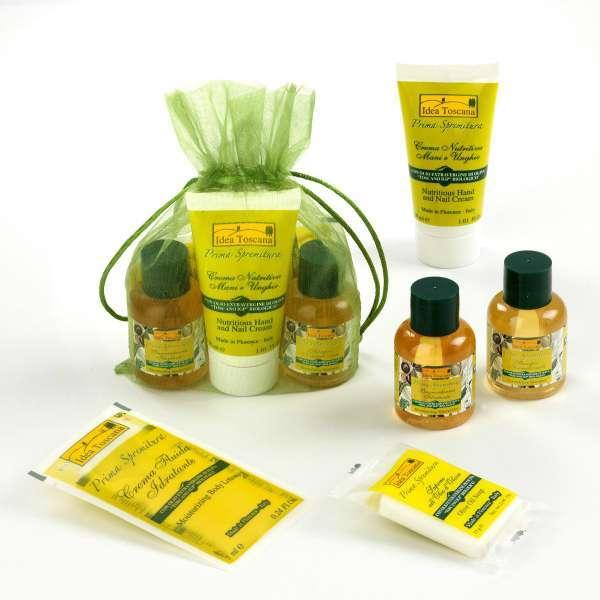 Organza bag prepared 5 products (zelf samenstellen)