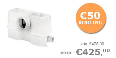 Grundfos SOLOLIFT2 WC-3 afvalwaterpomp