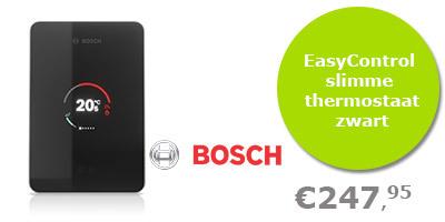 Bosch EasyControl slimme thermostaat zwart