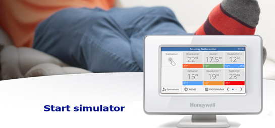 Honeywell Evohome simulator