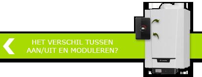 Wat is het verschil tussen aan/uit en modulerende thermostaten >