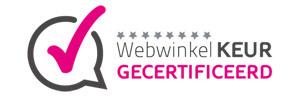 Webwinkel gecertificeerd Zinkfabriek.nl