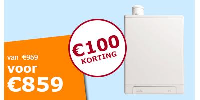 Intergas cv ketel Kombi Kompakt HRE 28/24 cw4 rf2 A-label
