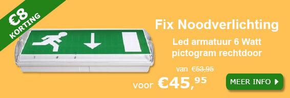 Fix Ontec S noodverlichtingsarmatuur