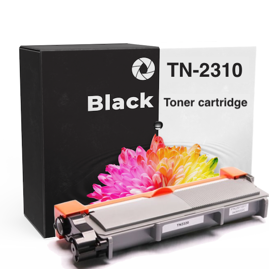 Toner cartridge voor Brother HL-L2320D | Zwart