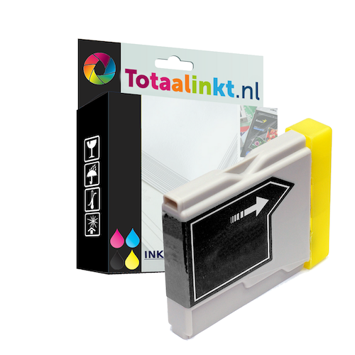 Inktcartridge voor Brother MFC-660CN | Zwart