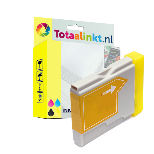 Inktcartridge voor Brother MFC-660CN | Geel