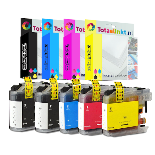 Inktcartridge voor Brother MFC-J5620DW | 5-pack multi-color
