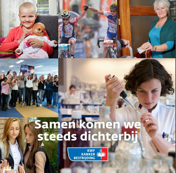Corporate brochure KWF Kankerbestrijding
