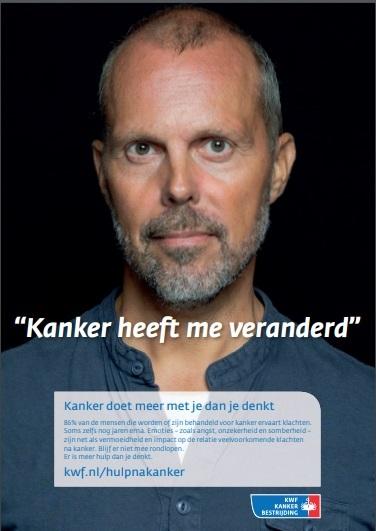 Poster: Kanker doet meer met je dan je denkt
