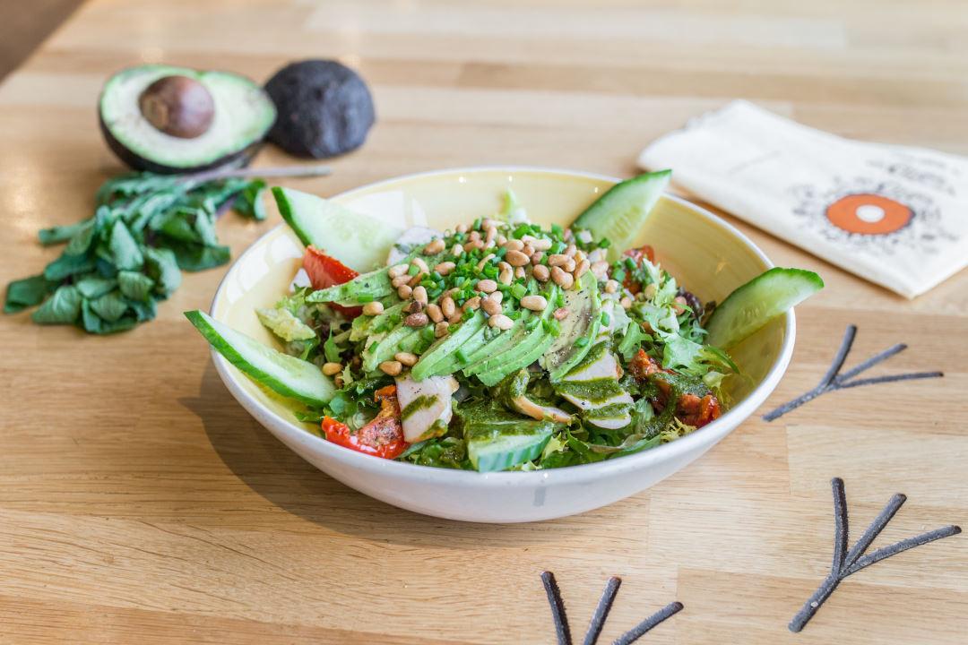 Salade rookkippetje